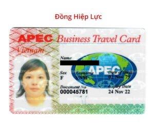Thẻ APEC doanh nhân - Miễn thị thực khối APEC