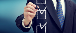 Corporate compliance checklist in early 2017