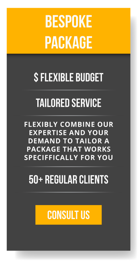 business consulting service package