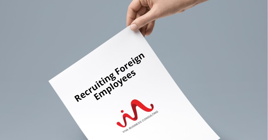 recruiting foreign employees