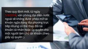 Văn phòng đại diện nước ngoài tại Việt Nam - quyền lợi và các nghĩa vụ
