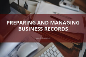 Preparing business records in Vietnam
