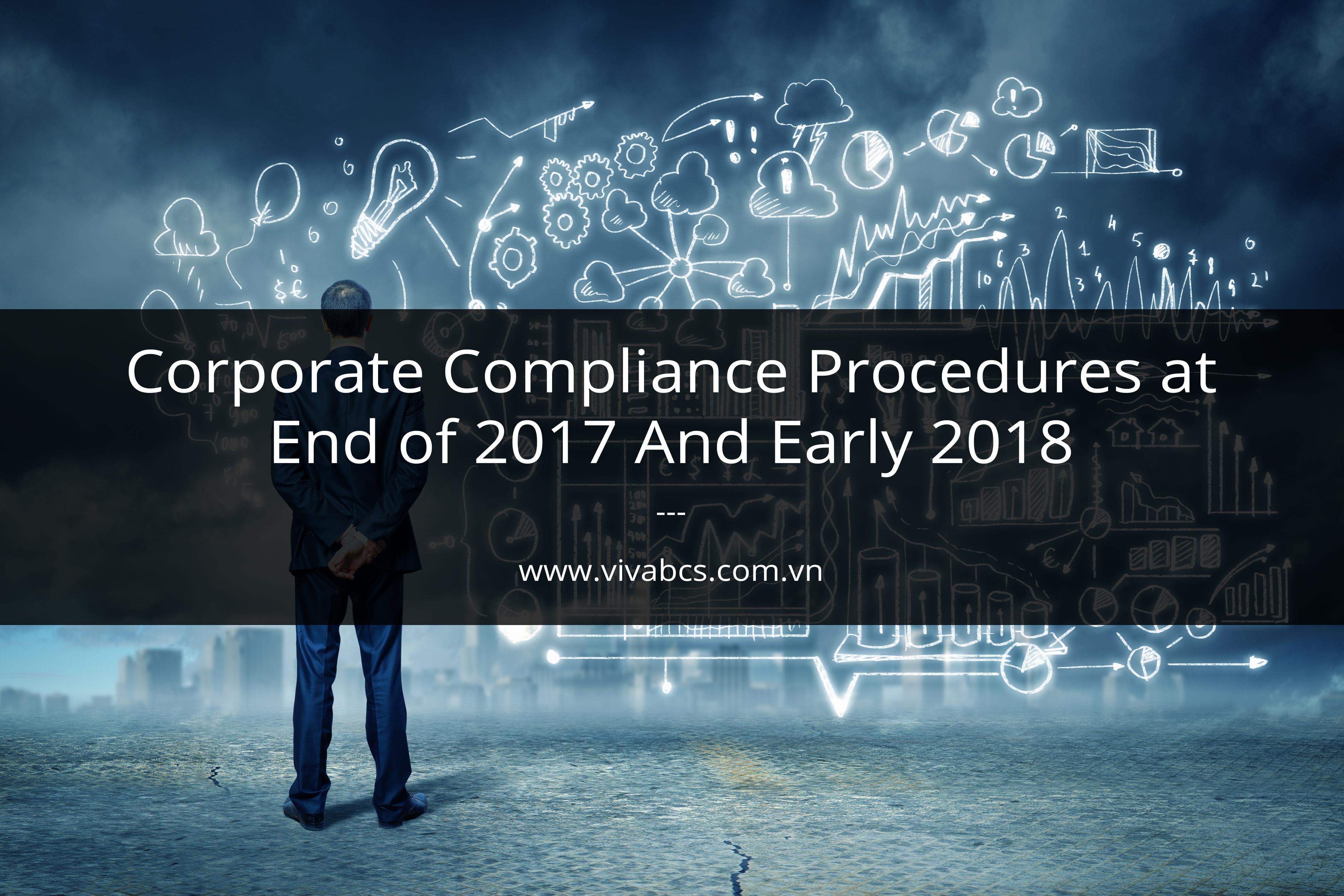 corporate compliance procedures