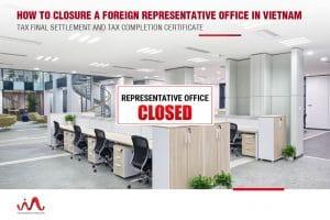dissolution of representative office