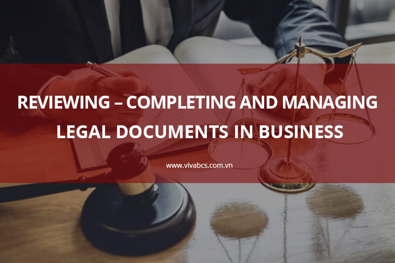 Legal Documents in Business