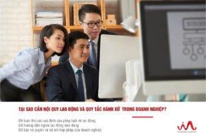 Nội quy lao động và quy tắc hành xử trong doanh nghiệp