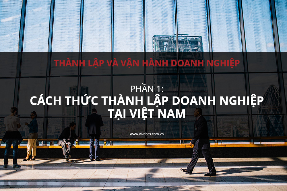 thành lập doanh nghiệp