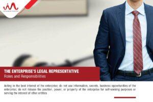 Roles and Responsibilities of the Enterprise's Legal Representative