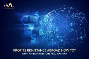 Determination time and procedures of profits remitted abroad