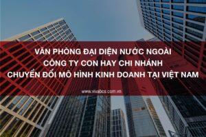 Chuyển đổi mô hình kinh doanh tại Việt Nam