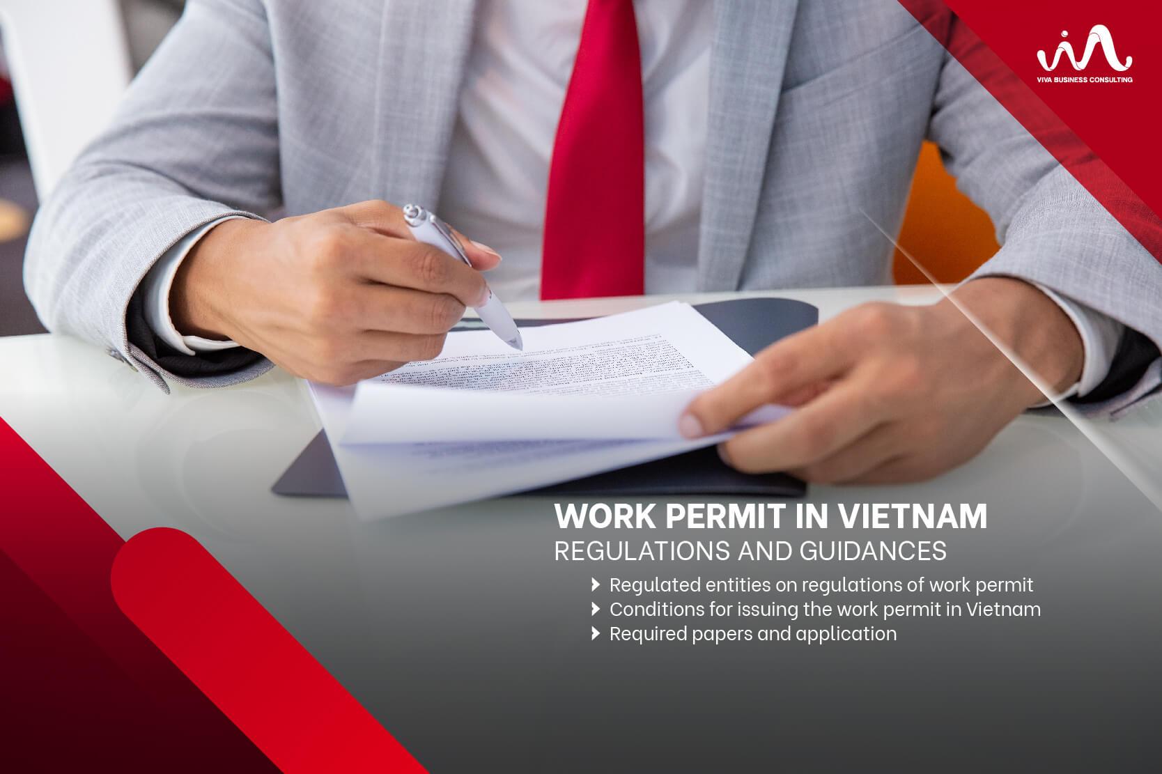 Work Permit in Vietnam - Regulations and guidances