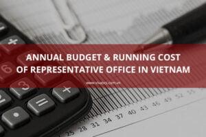 Cost of representative office in Vietnam