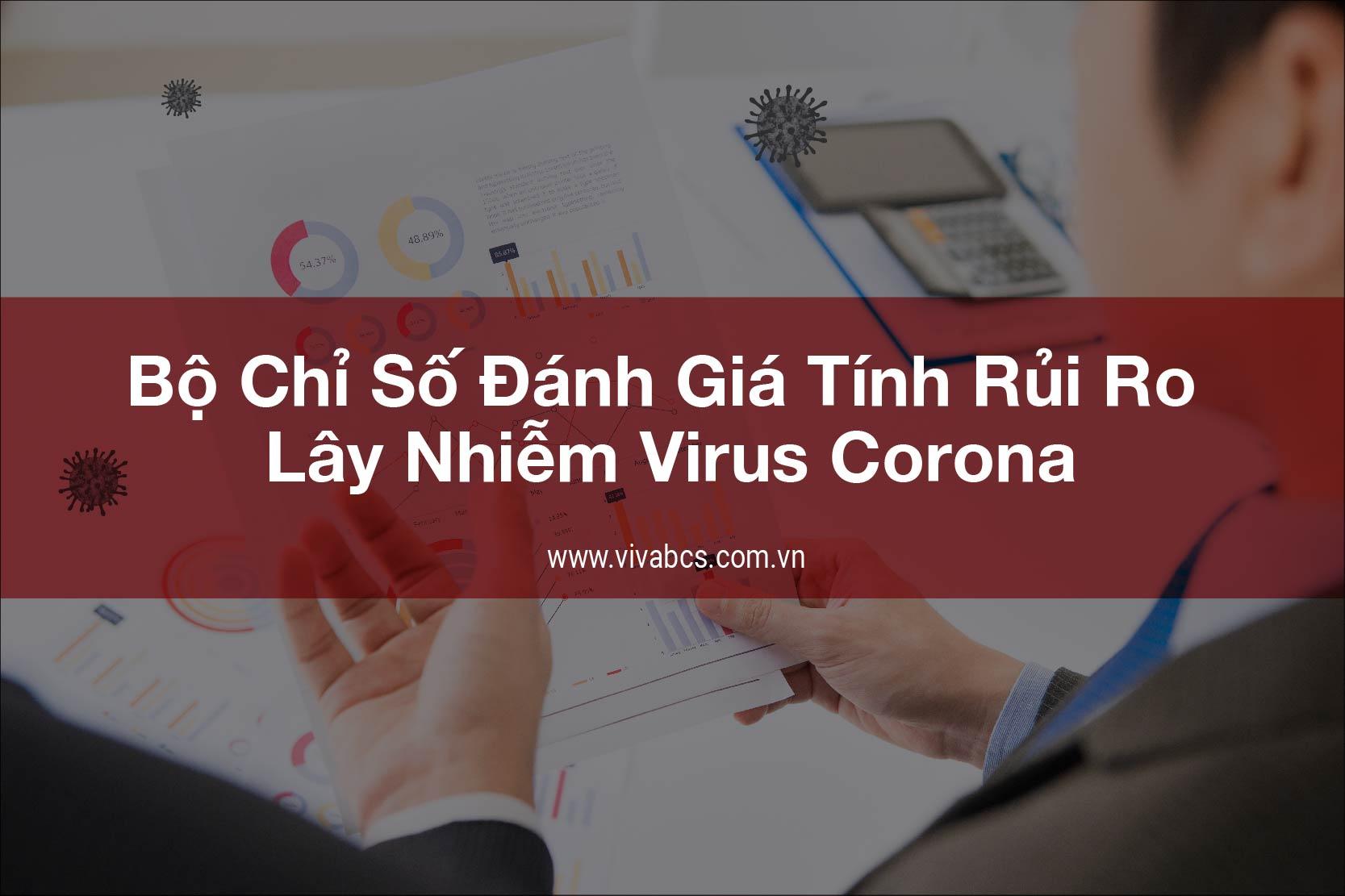 Bộ chỉ số lây nhiễm virus COVID của doanh nghiệp