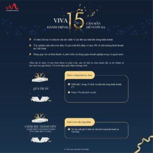 15 năm thành lập VIVA - Quà tri ân