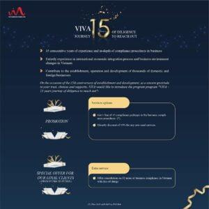 15 Years VIVA Anniversary - Promotion Service