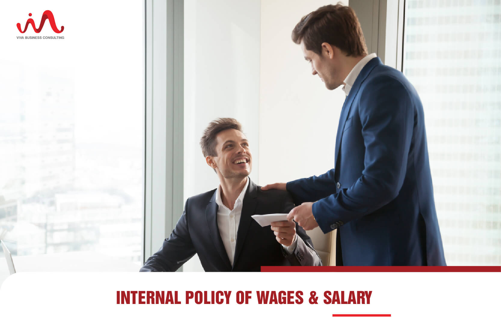Internal salary and wages policy