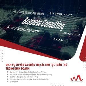 Dịch vụ cố vấn và quản trị các thủ tục tuân thủ trong kinh doanh