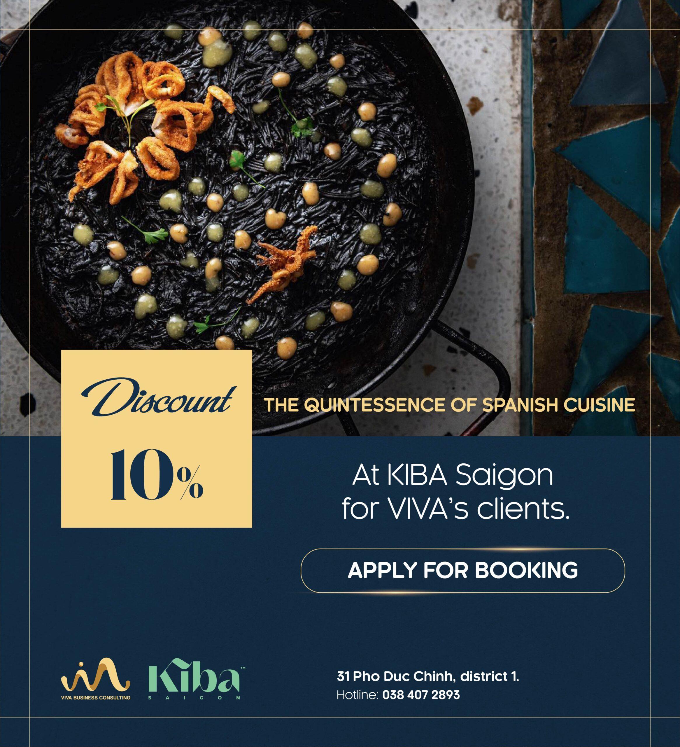 KIBA Saigon promotion