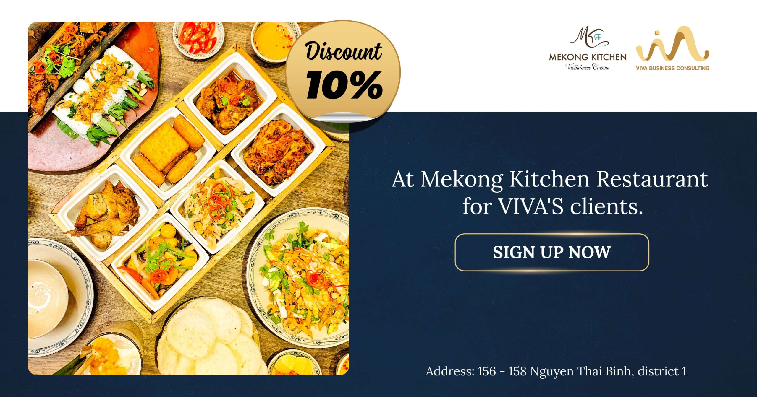 Promotion with Mekong Kitchen Restaurant