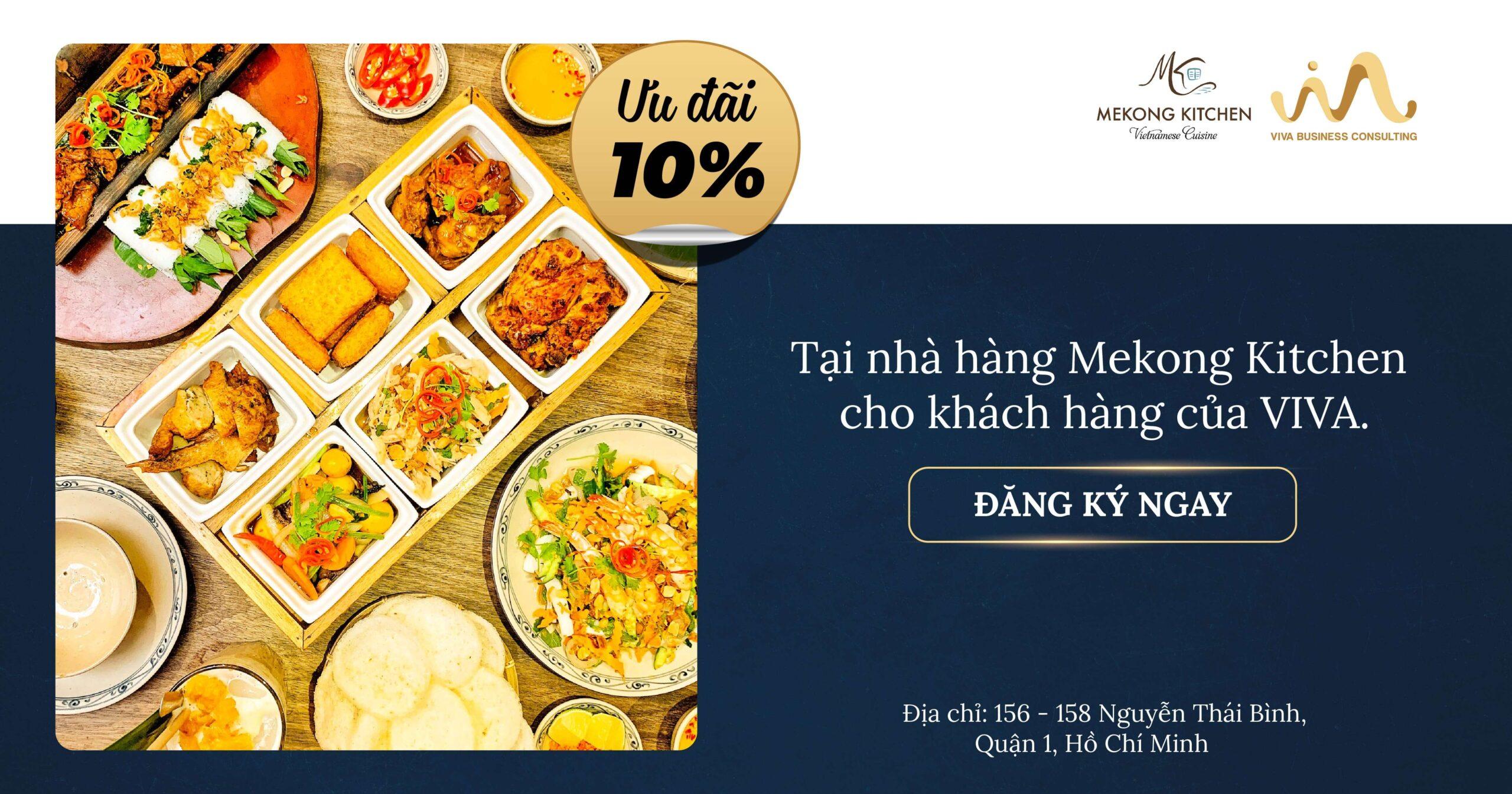 Ưu đãi từ Mekong Kitchen dành riêng cho khách hàng của VIVA